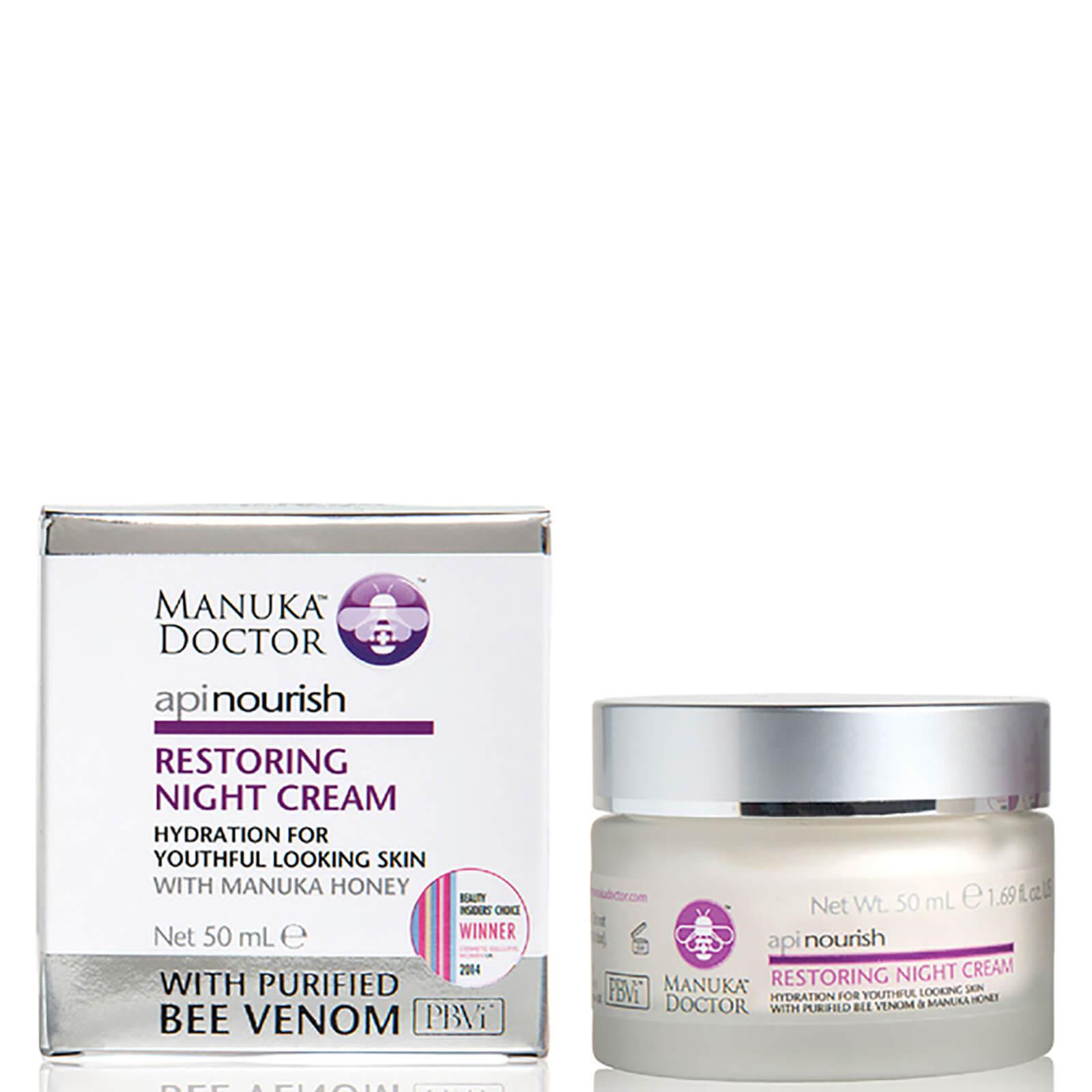 Manuka Doctor Crème de Nuit Réparatrice ApiNourish Manuka Doctor50 ml