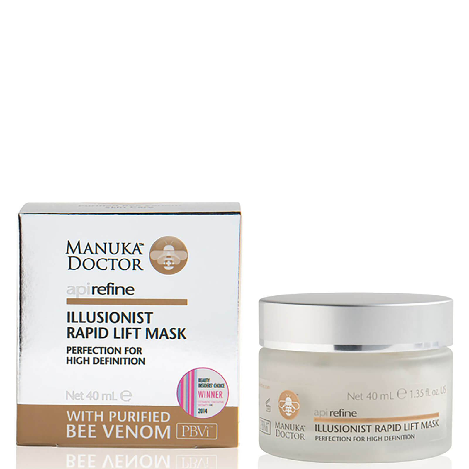 Manuka Doctor Masque illusioniste à effet tenseur rapide ApiRefine Manuka Doctor  40 ml