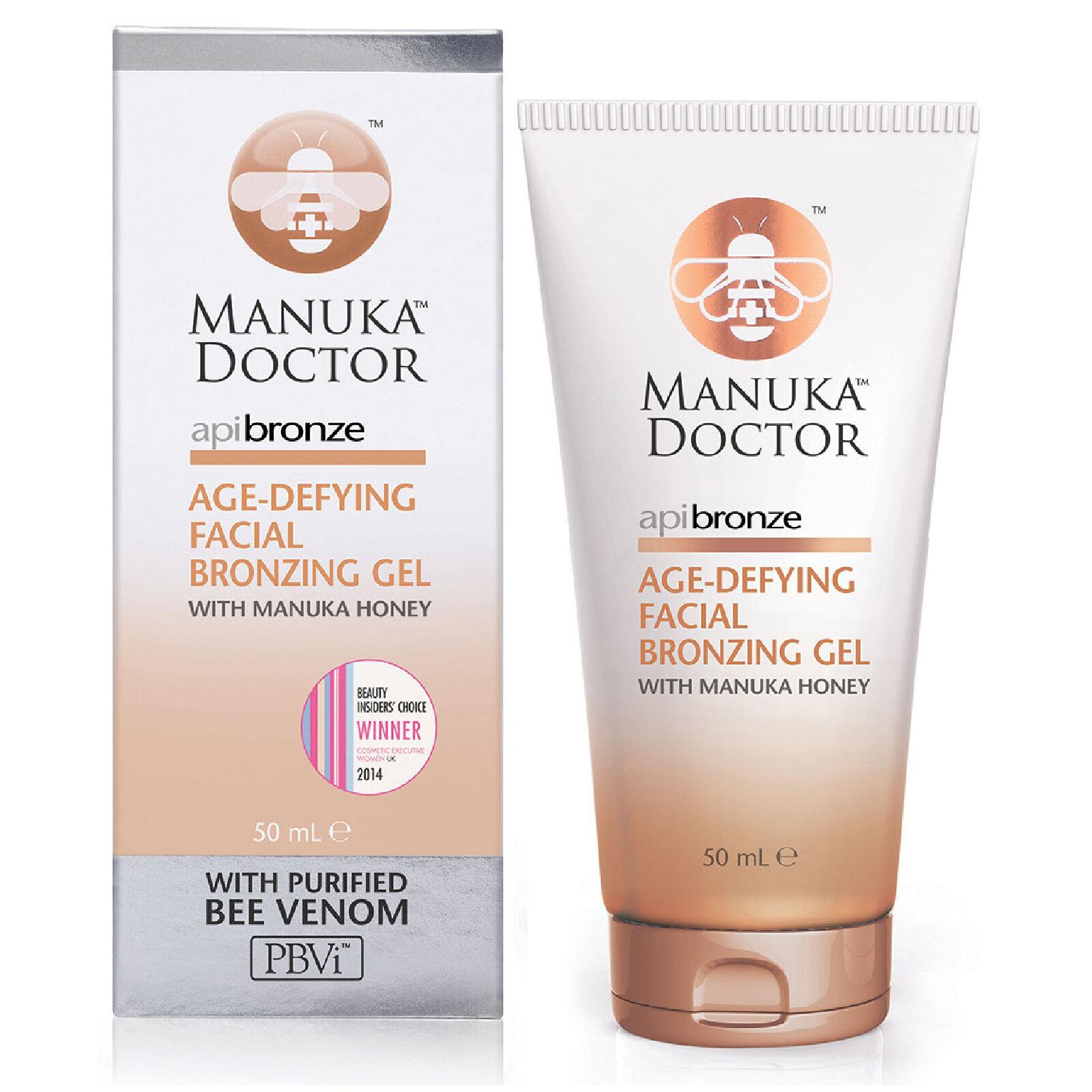 Manuka Doctor Gel bronzant anti-âge pour le visageApiBronzeManuka Doctor 50 ml
