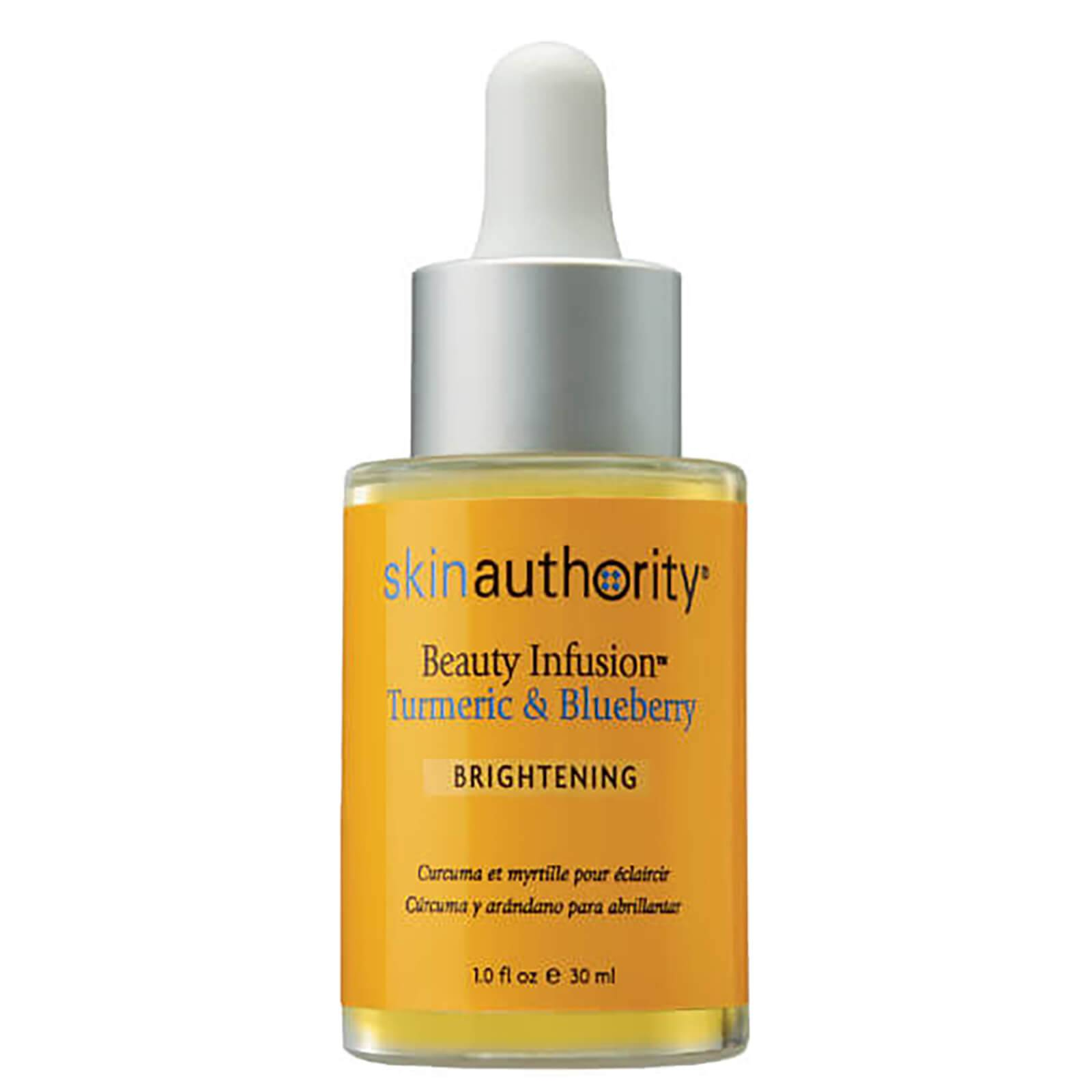 Skin Authority Huile Éclaircissante au Curcuma et à la Myrtille Beauty Infusion™ Skin Authority