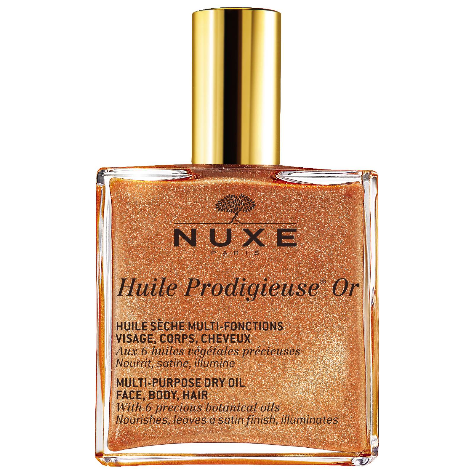 NUXE Huile sèche multi-fonctions Huile Prodigieuse® Or NUXE 100ml