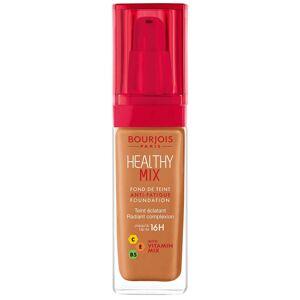 Bourjois Fond de Teint Anti-Fatigue Healthy Mix Bourjois 30ml (différentes teintes disponibles) - Dark Amber - Publicité