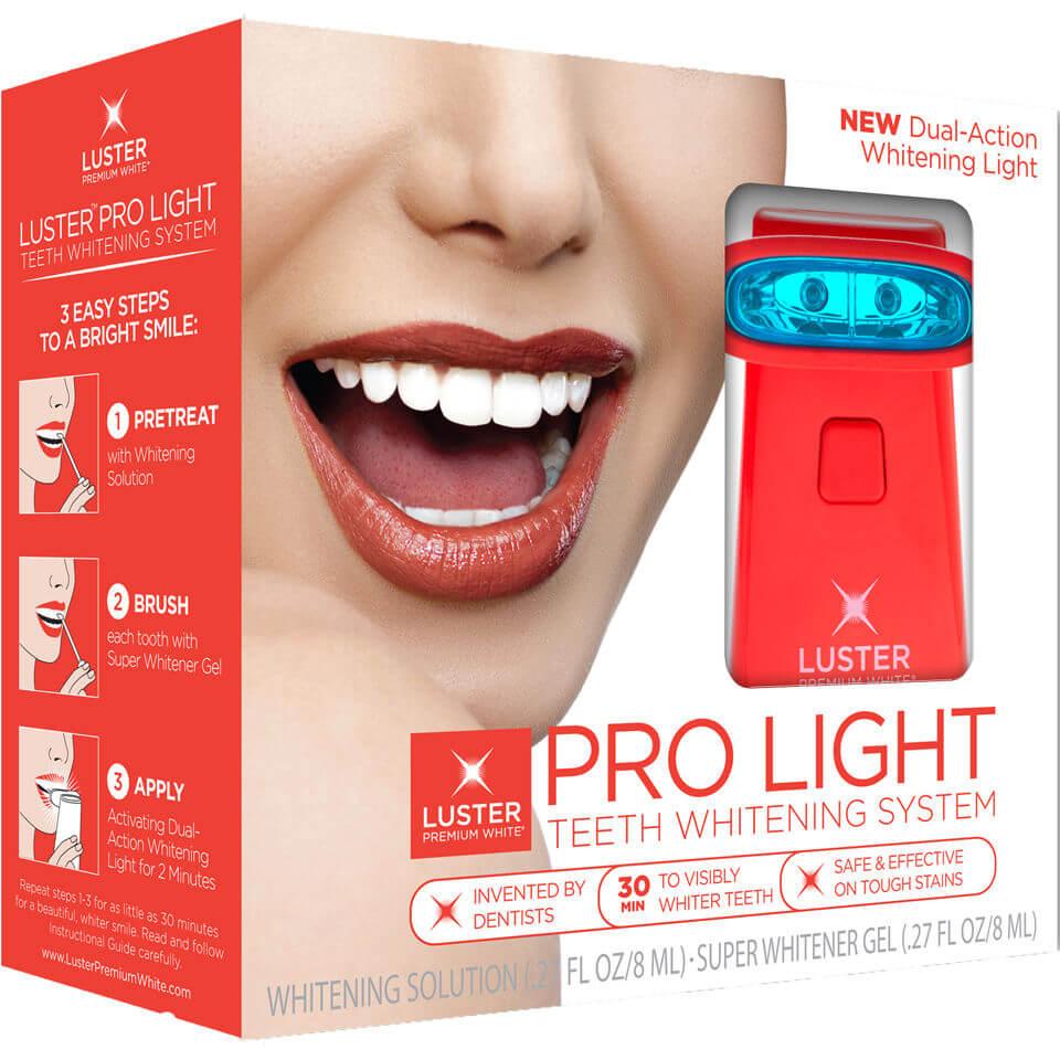 Luster Pro Light Teeth Whitening System Whitening Solution /Gel - Dual Action Light (10 ml)