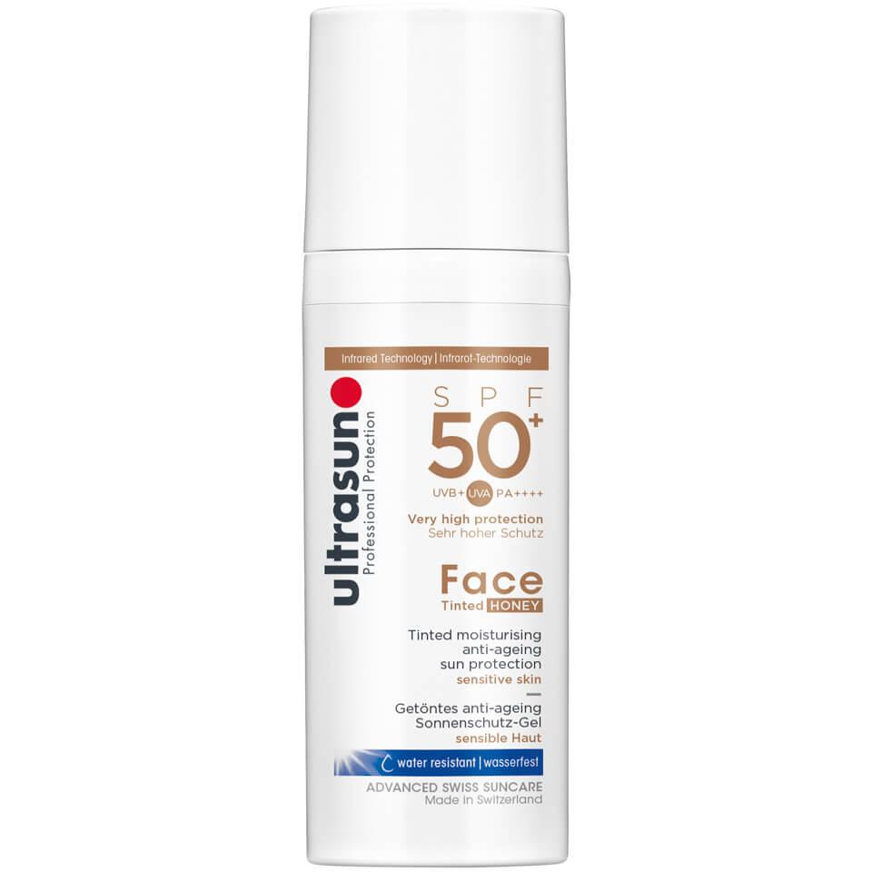 Ultrasun Crème solaire pour le visage teintée SPF50 de Ultrasun (différentes teintes) - Honey