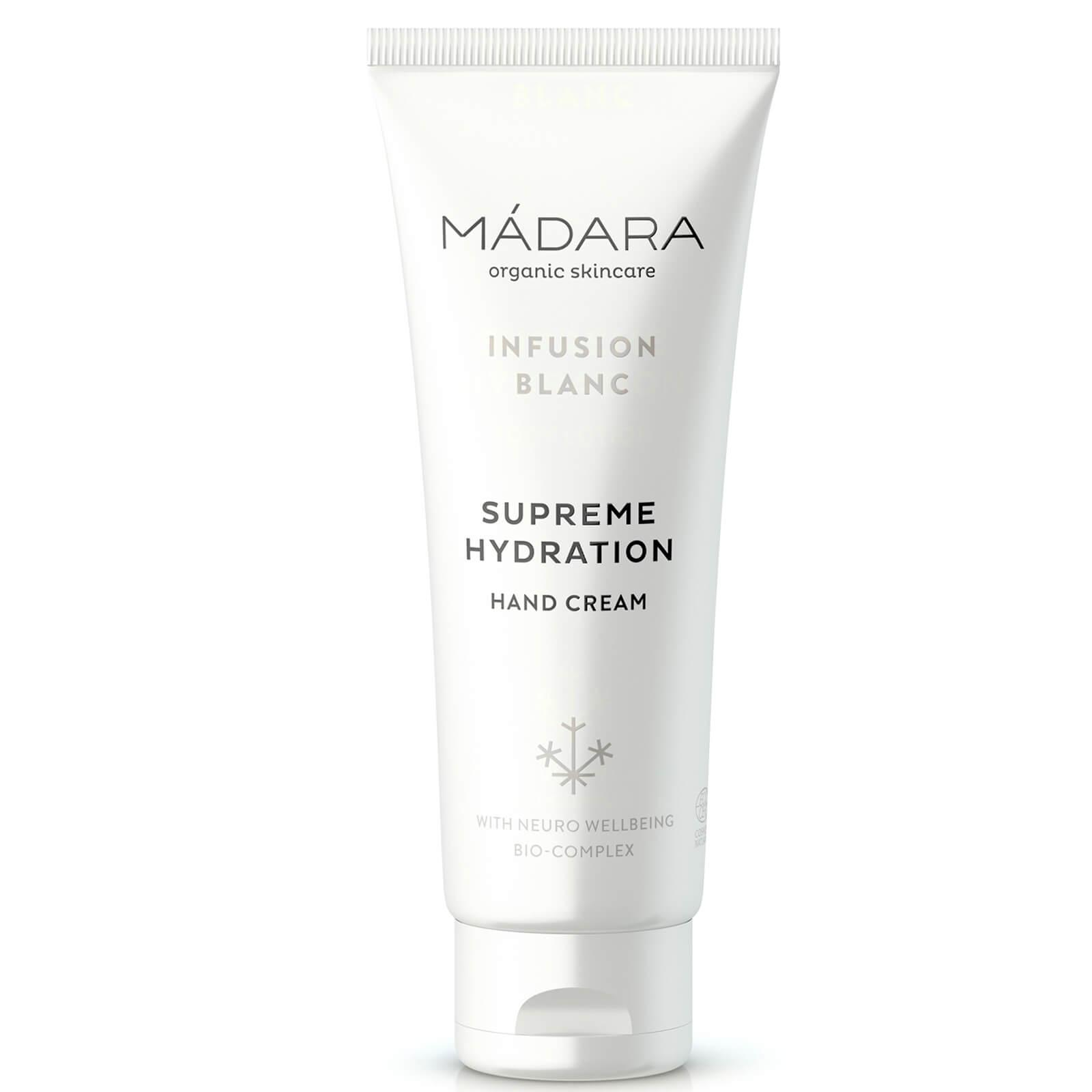 MADARA Crème pour les Mains « Hydratation Suprême - Infusion Blanc » (jasmin et reine-des-prés) MÁDARA 75 ml