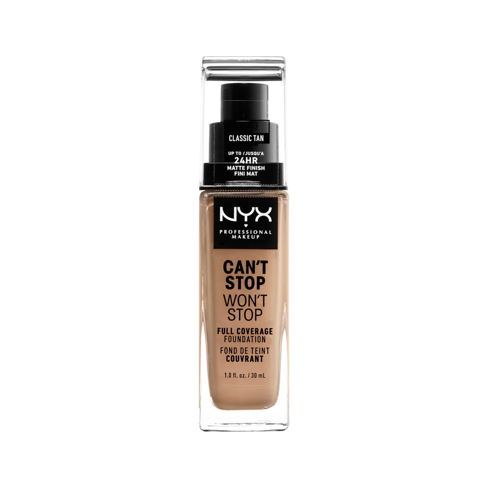 NYX Professional Makeup Fond de Teint 24Heures Can't Stop Won't Stop NYX Professional Makeup (différentes teintes disponibles) - Classic Tan