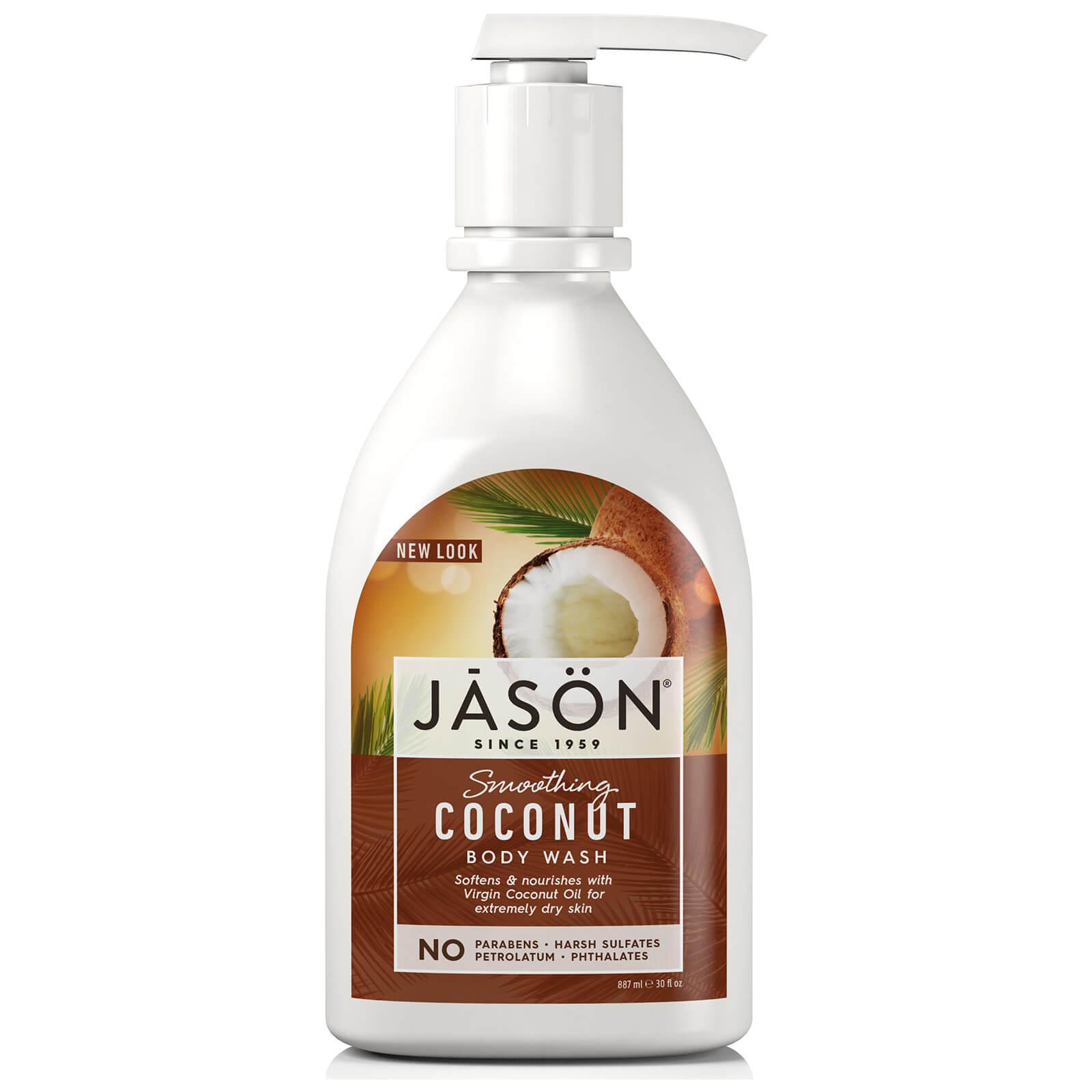 JASON Nettoyant corporel adoucissant à la noix de coco JASON887ml