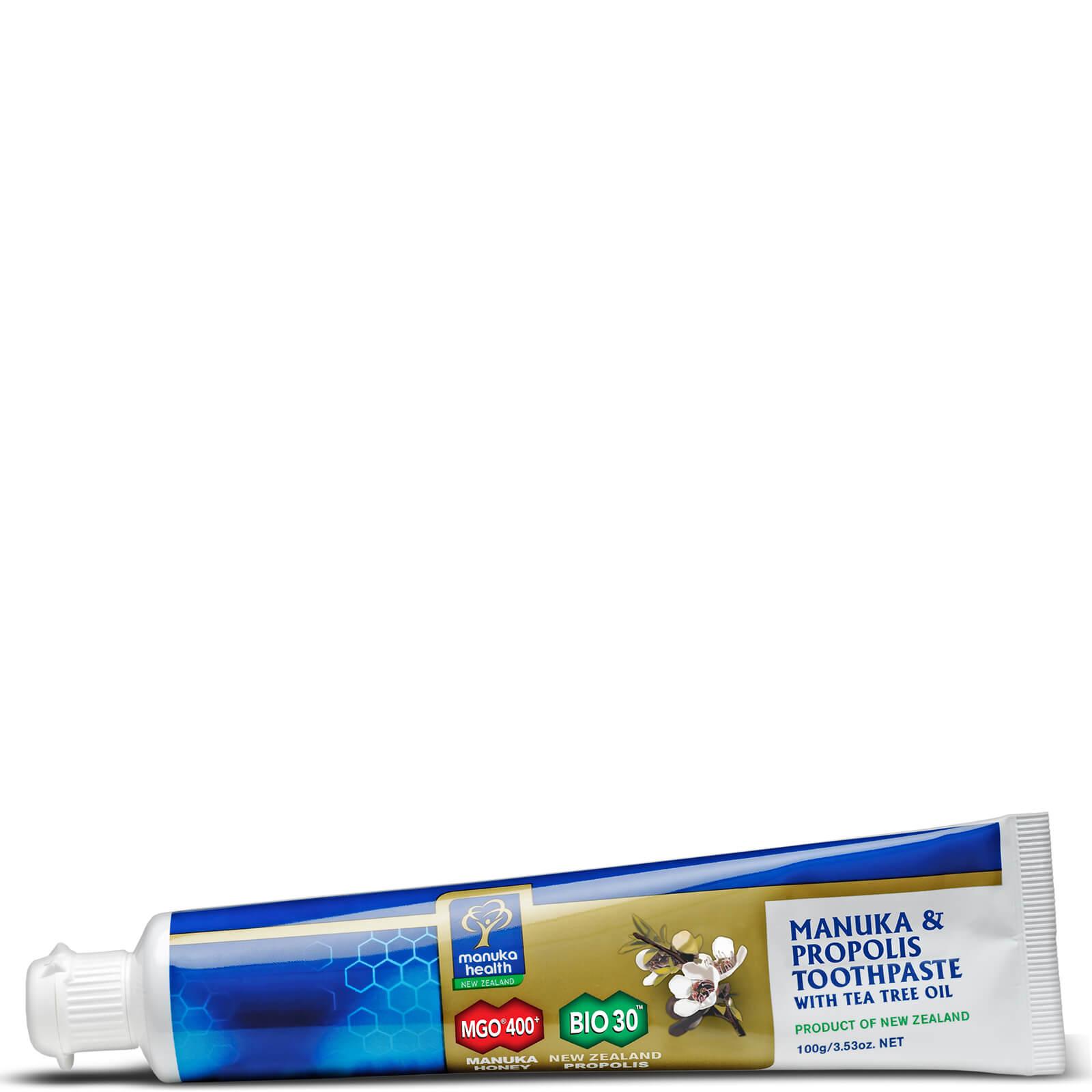 Manuka Health New Zealand Ltd Dentifrice au Miel de Manuka MGO 400+, Huile d'Arbre à Thé et Propolis Manuka Health 100 g