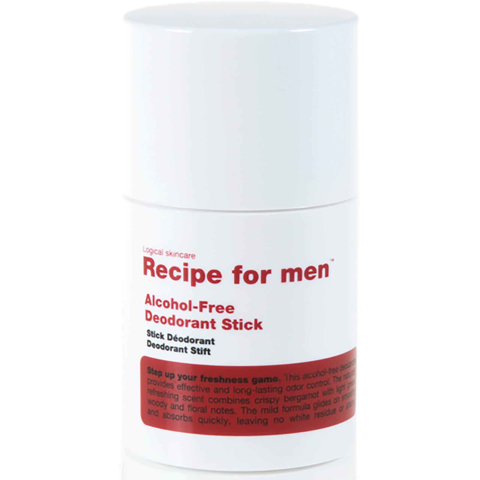 Recipe For Men Stick Déodorant Sans Alcool Recipe For Men 75ml