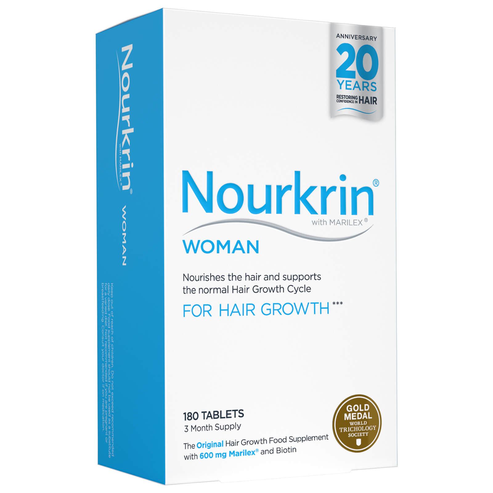 Nourkrin Compléments alimentaires soins de cheveux Nourkrin Woman - 3 mois (180 cachets)