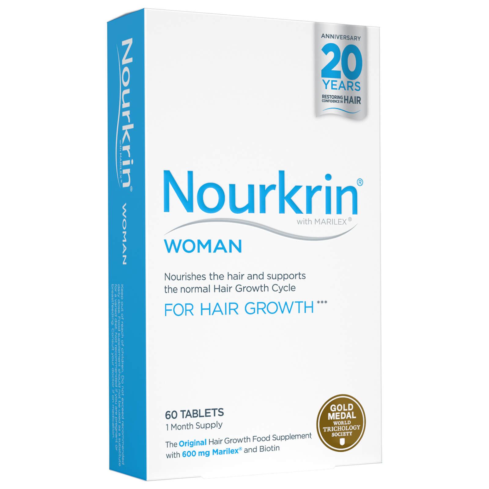 Nourkrin Woman Compléments alimentaires pour femme - cheveux (60 cachets)