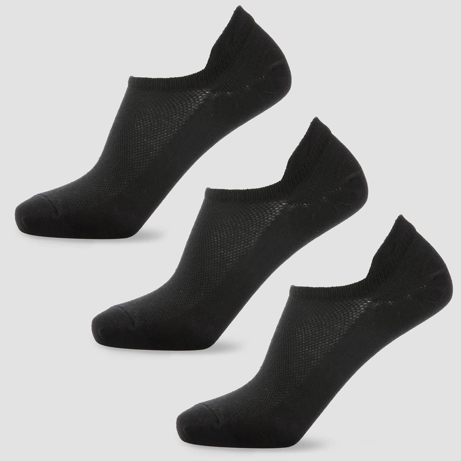 Myprotein Chaussettes courtes pour femme - Noires - UK 3-6