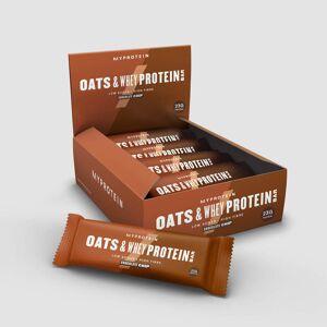 Myprotein Barre Flocon d'Avoine et Whey - Copeaux de chocolat - Publicité