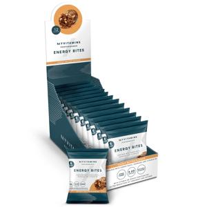 Myvitamins Energy Bites - 12 x 45g - Beurre d'arachides - Publicité