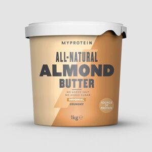 Myprotein Beurre d'amandes - 1kg - Nature - Croustillant - Publicité