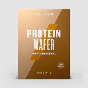 Myprotein Gaufrettes Protéinées Allégées - Chocolat aux noisettes - Publicité
