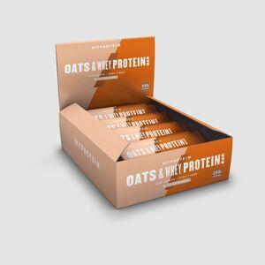 Myprotein Barre Flocon d'Avoine et Whey - Nouveau - Caramel salé - Publicité