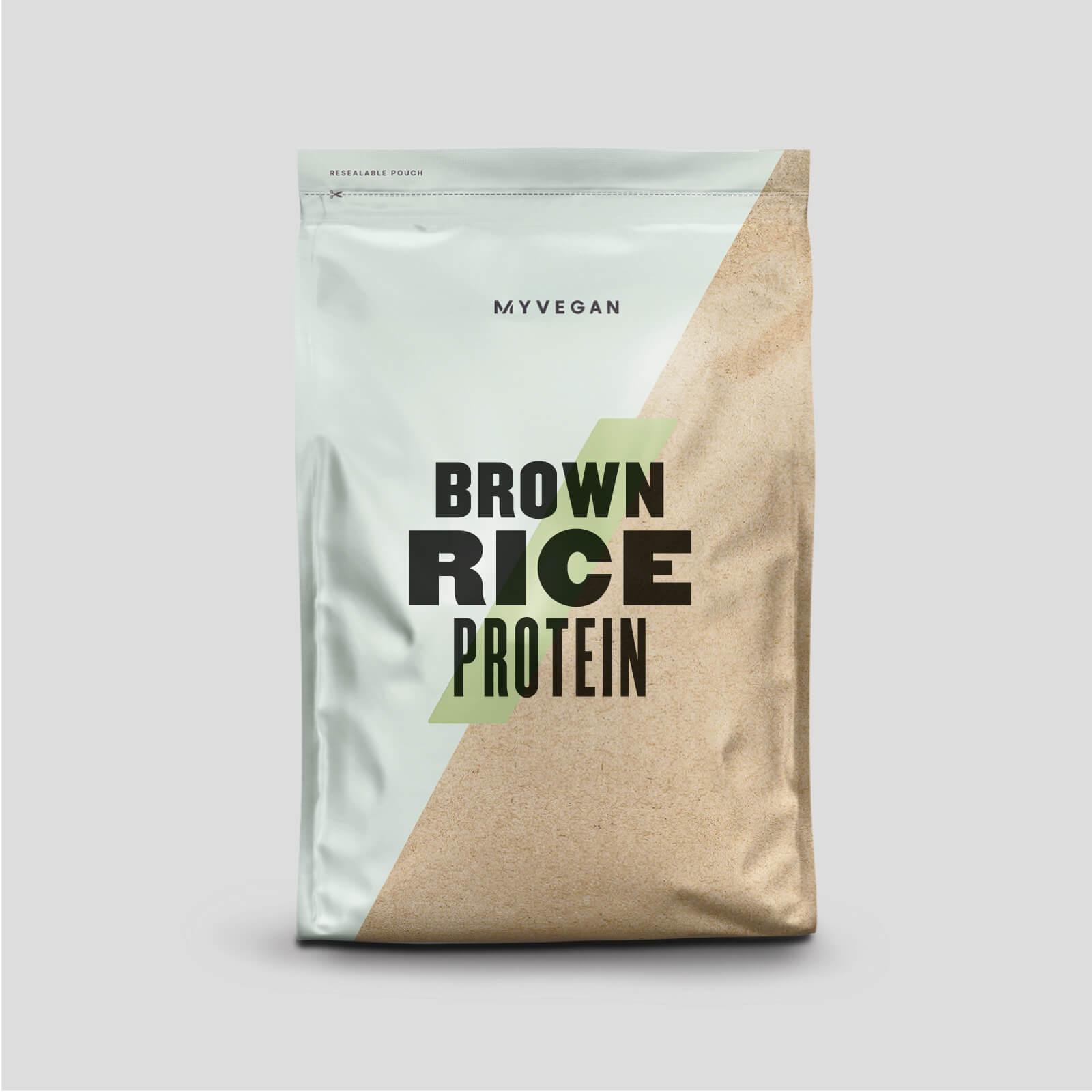 Myprotein Protéine de riz brun - 2.5kg - Sans arôme ajouté