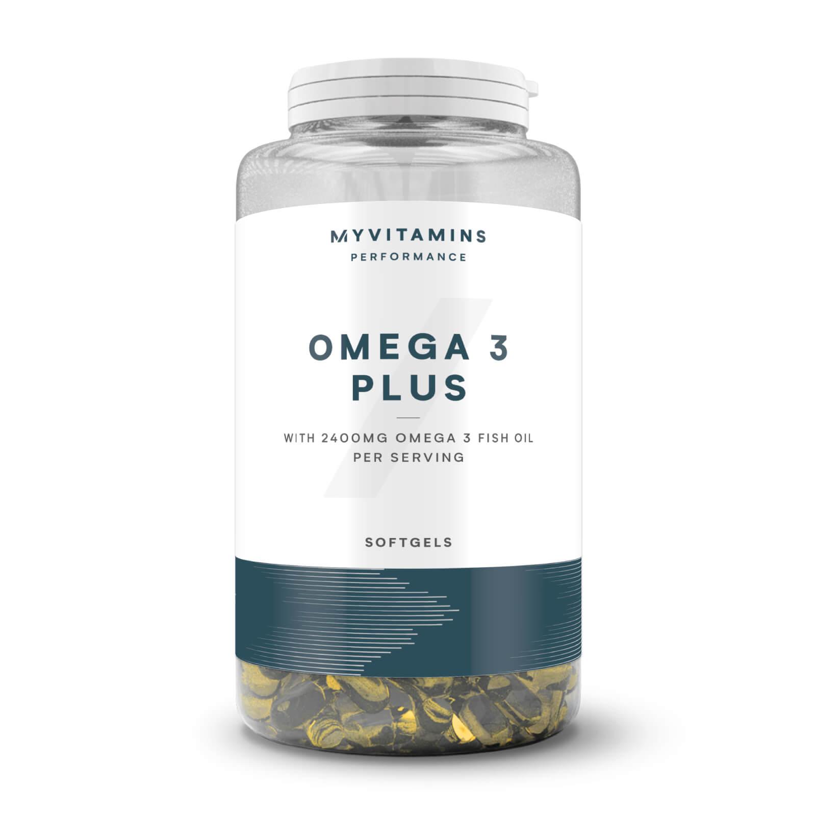 Myprotein Super Oméga 3 - gélules concentrées - 90Gélules