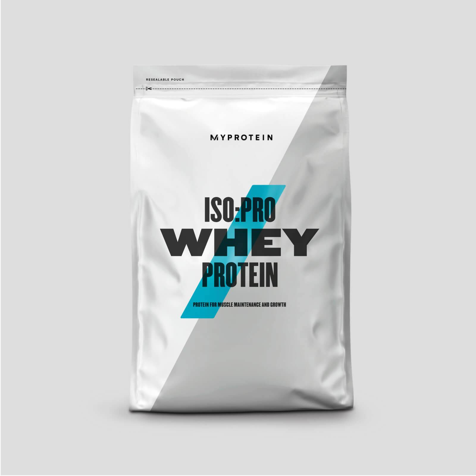 Myprotein ISO: PRO Whey en poudre - 1kg - Sans arôme ajouté
