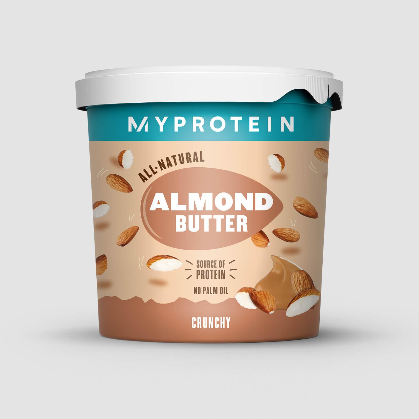 Myprotein Beurre d'amandes - Nature - Croustillant