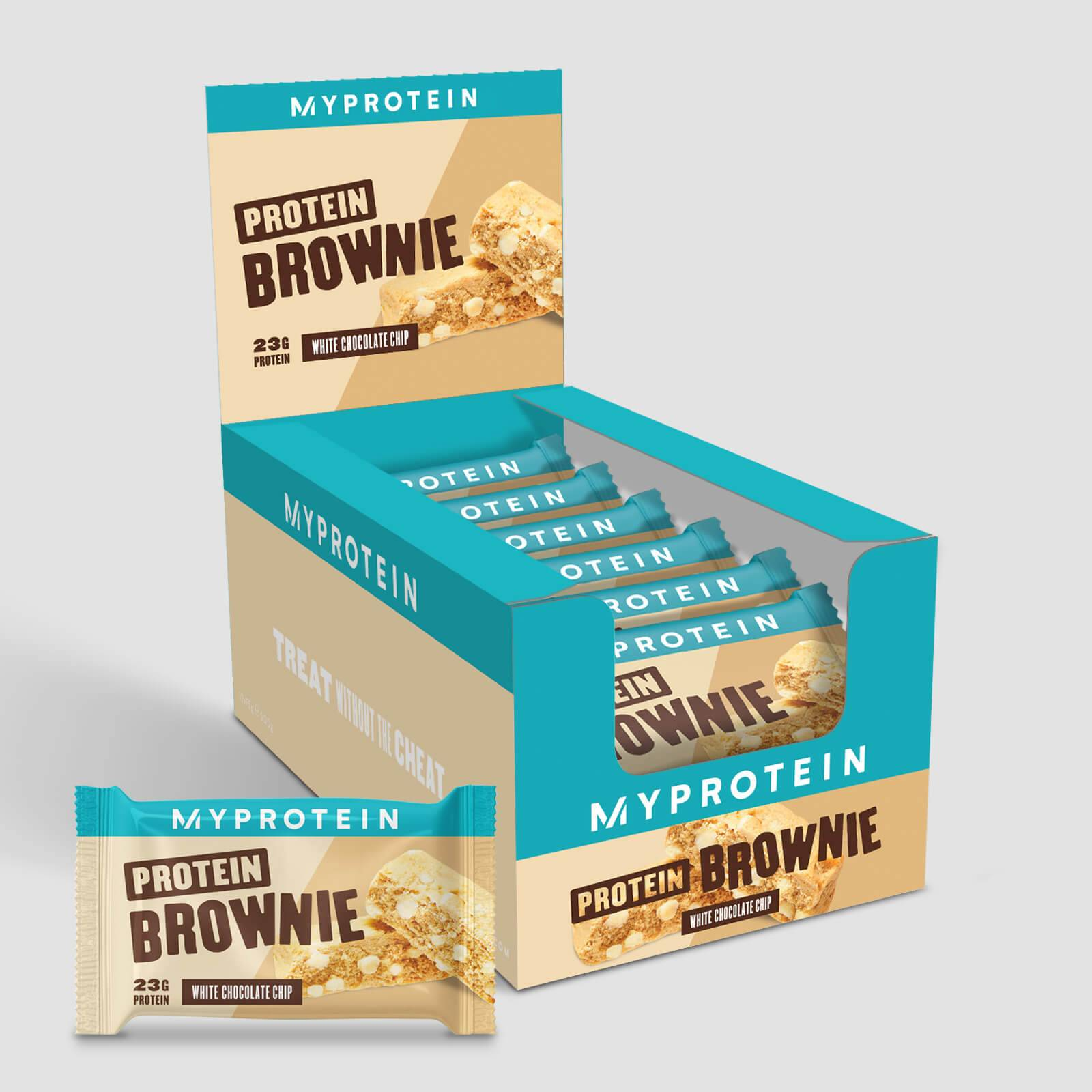 Myprotein Brownie Protéiné - Chocolat blanc