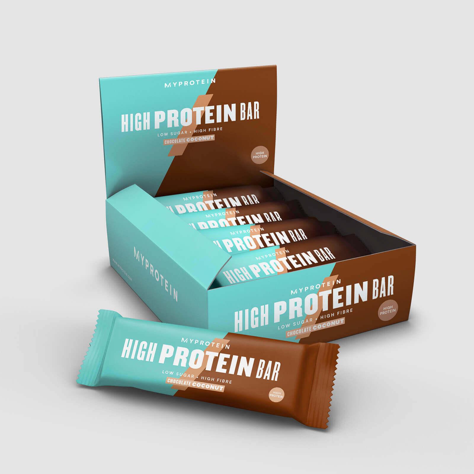 Myprotein Barre Hyper Protéinée - Chocolat-Noix de Coco
