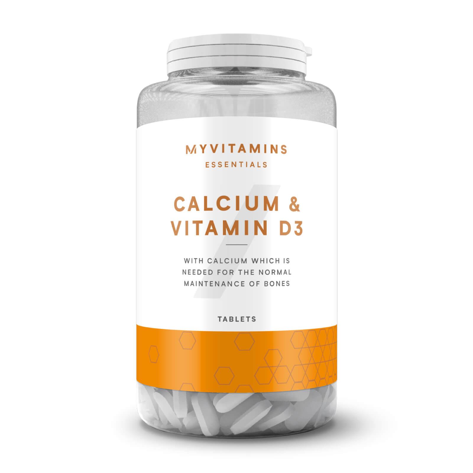 Myprotein Calcium + Vitamine D3 - 180Comprimés