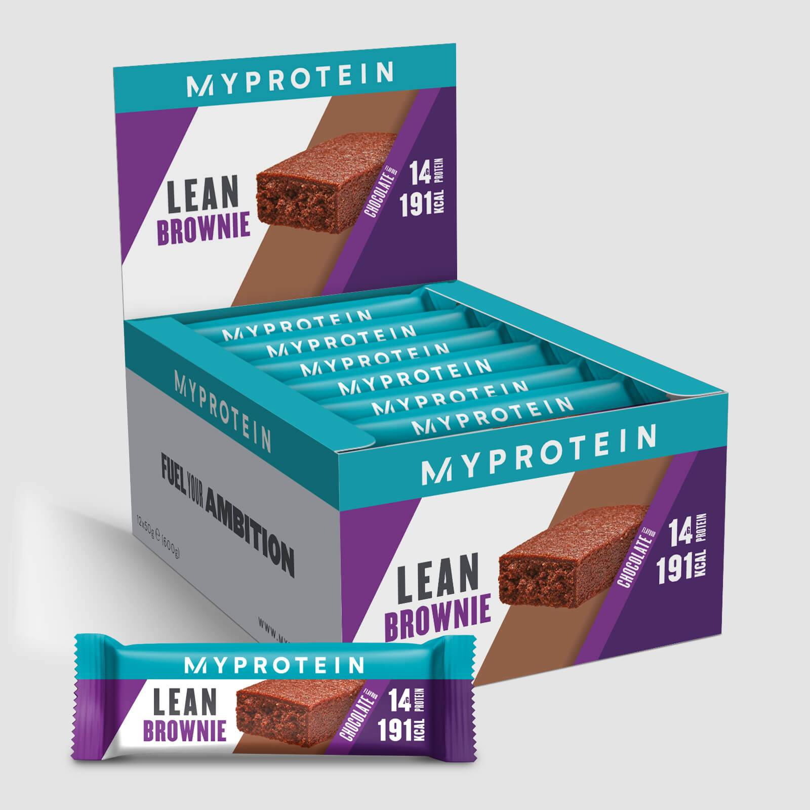 Myprotein Brownie allégé - 12 x 50g - Chocolat