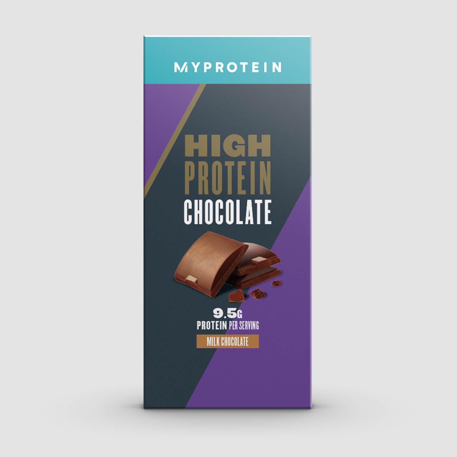 Myprotein Chocolat Protéiné - 70g - Chocolat au lait