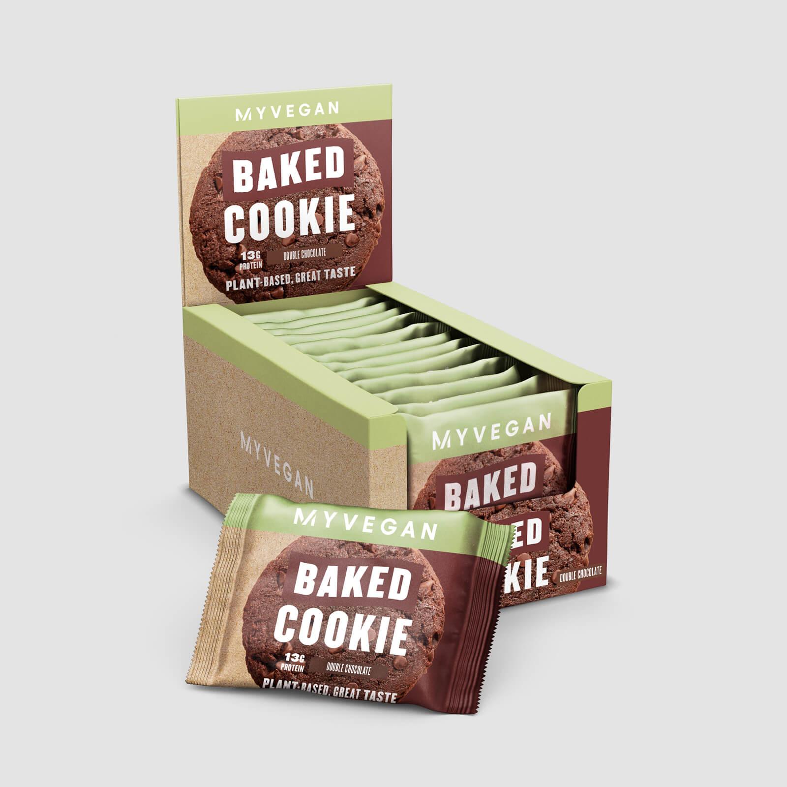 Myprotein Cookie protéiné Vegan - 12 x 75g - Double chocolat