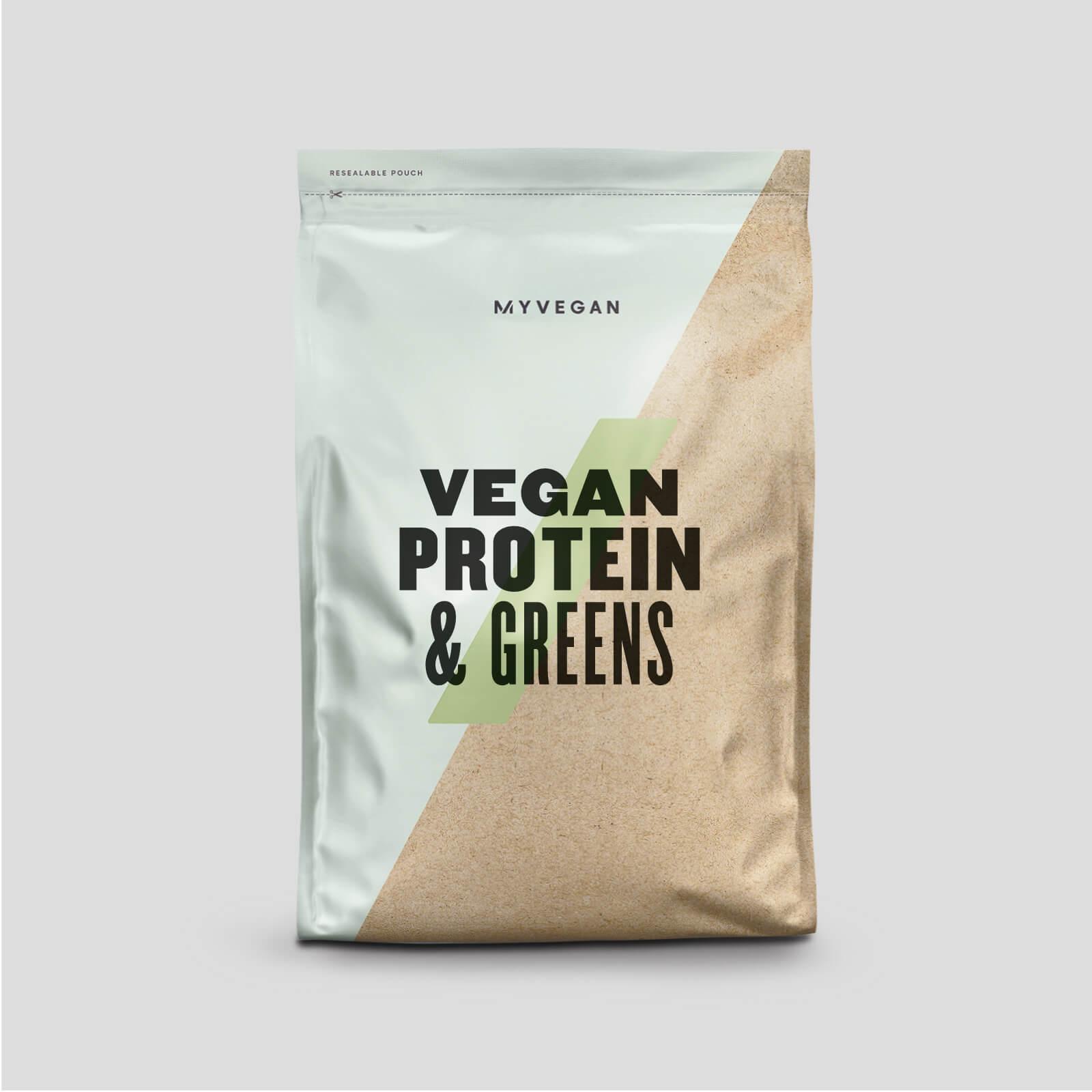 Myprotein Protéines végétaliennes et légumes verts - 1kg - Noix de coco et citron