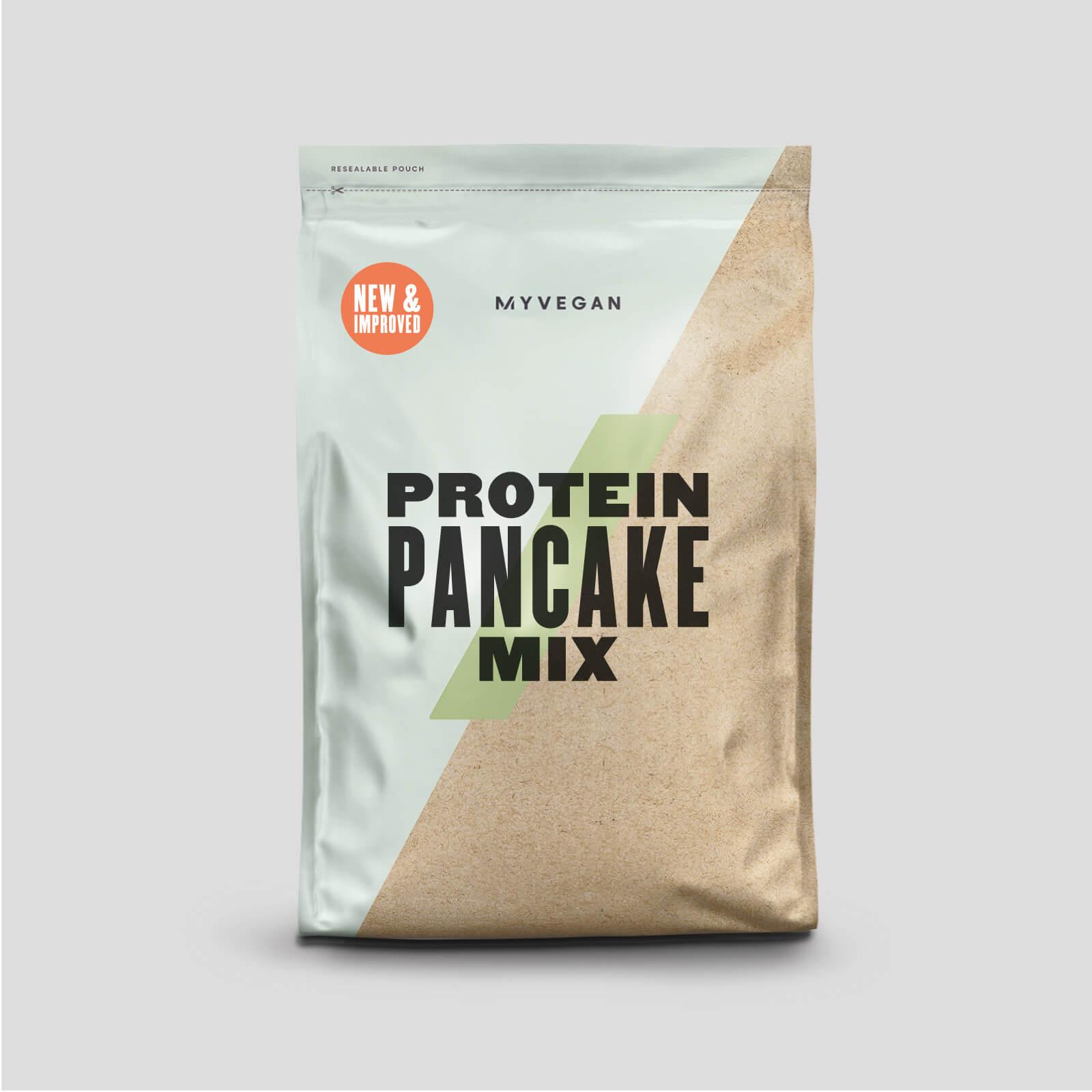 Myvegan Préparation Pancake Protéiné - 1kg - Sirop Doré