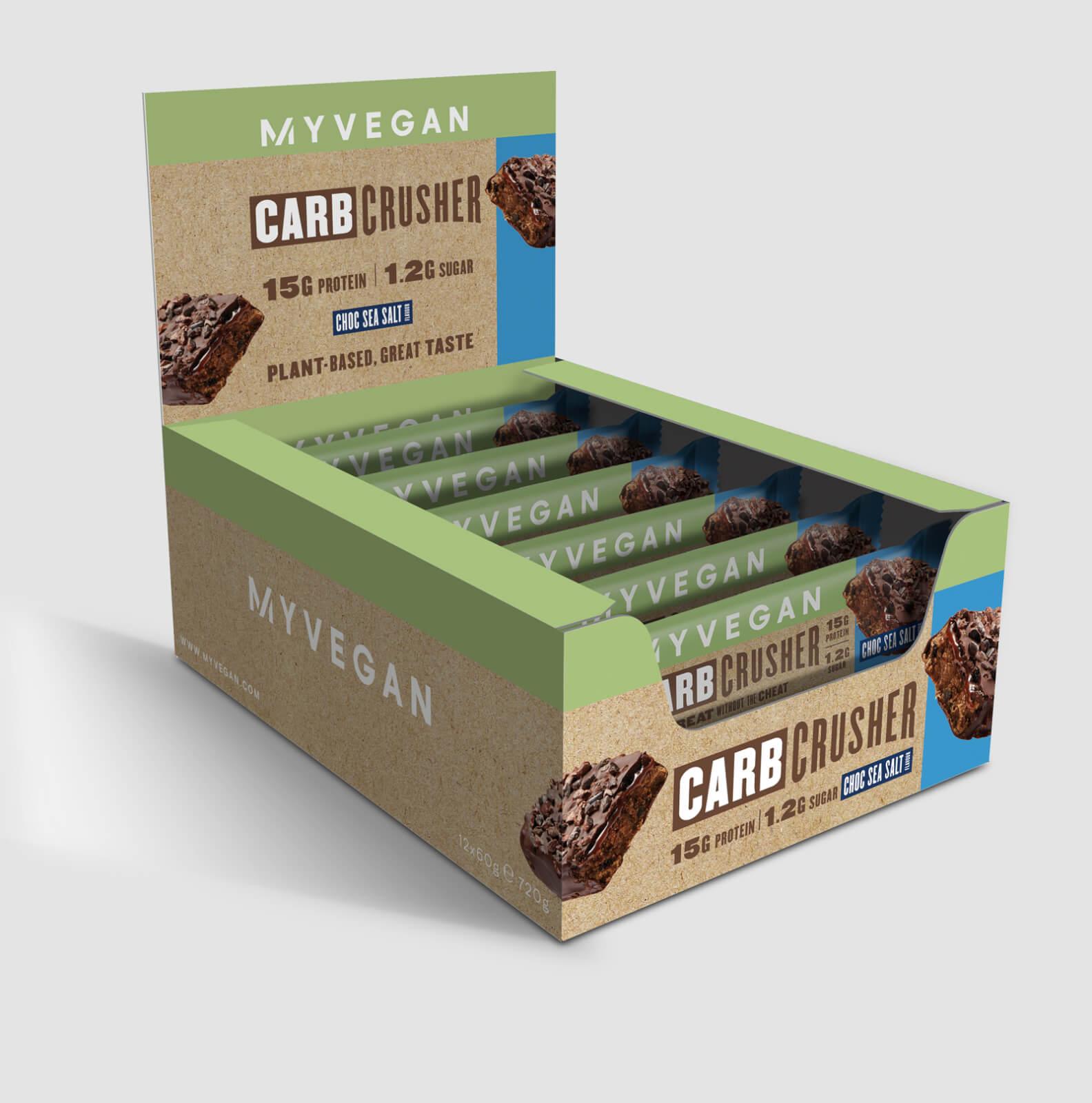 Myprotein Carb Crusher végane - 12 x 60g - Chocolat & Sel De Mer