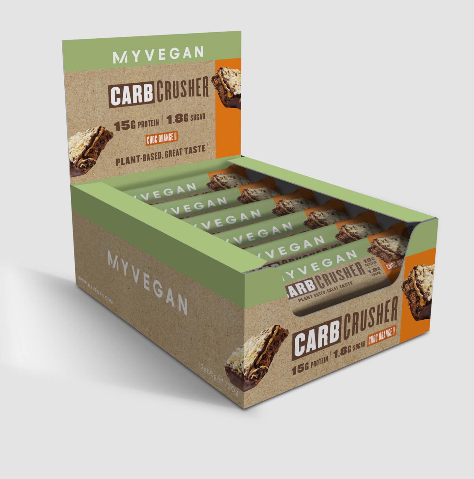 Myprotein Carb Crusher végane - 12 x 60g - Chocolat-Orange