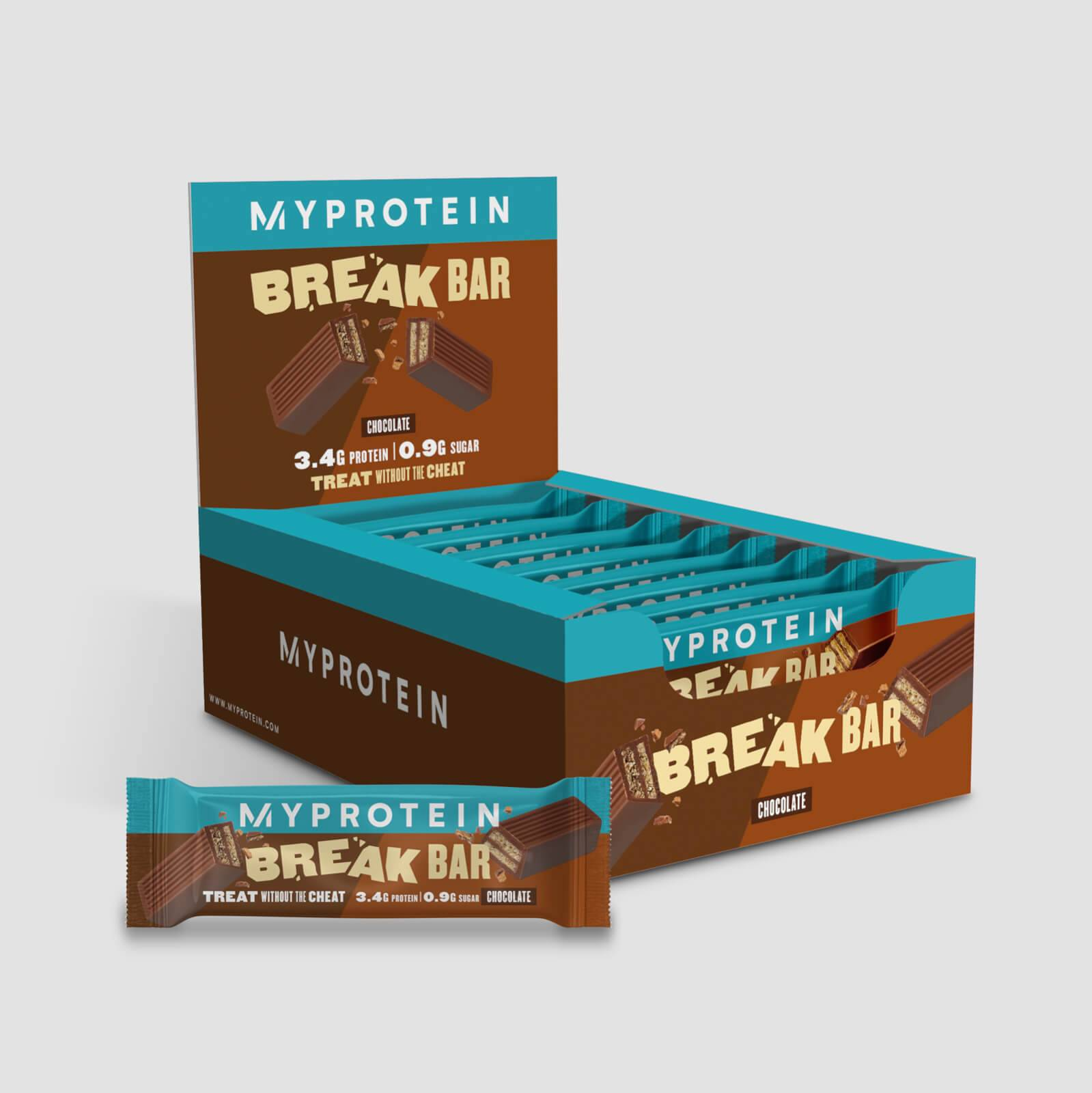 Myprotein Barre Protein Break - 16 x 21.5g - Chocolat