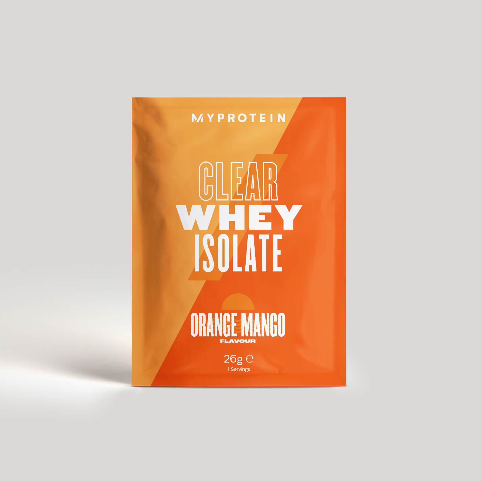 Myprotein Clear Whey Isolate (Échantillon) - 26g - Orange Mangue