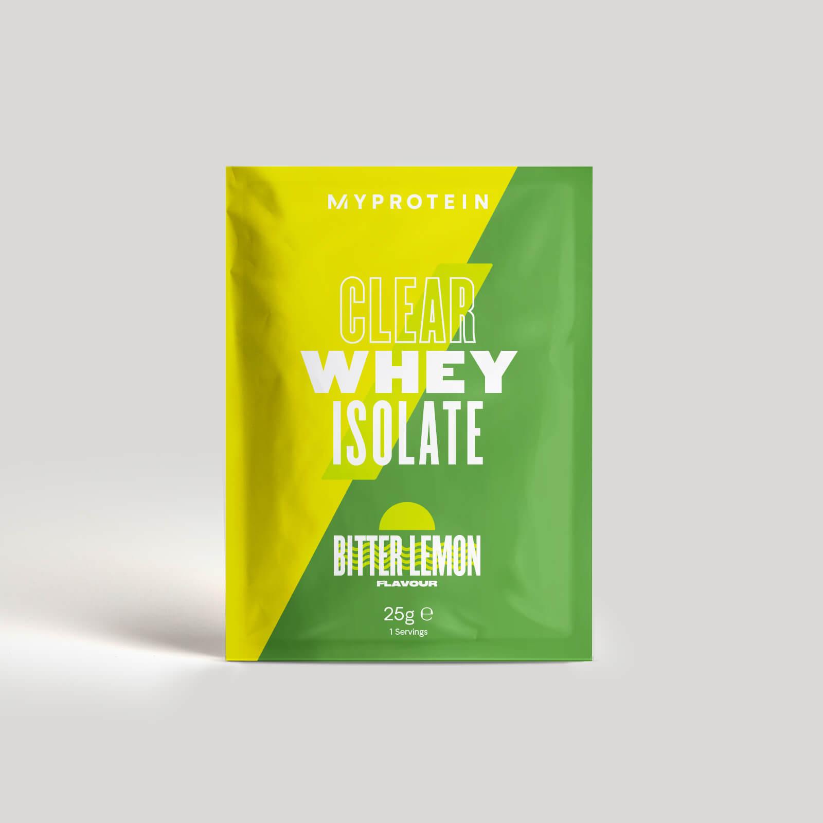 Myprotein Clear Whey Isolate (Échantillon) - 25g - Bitter Lemon