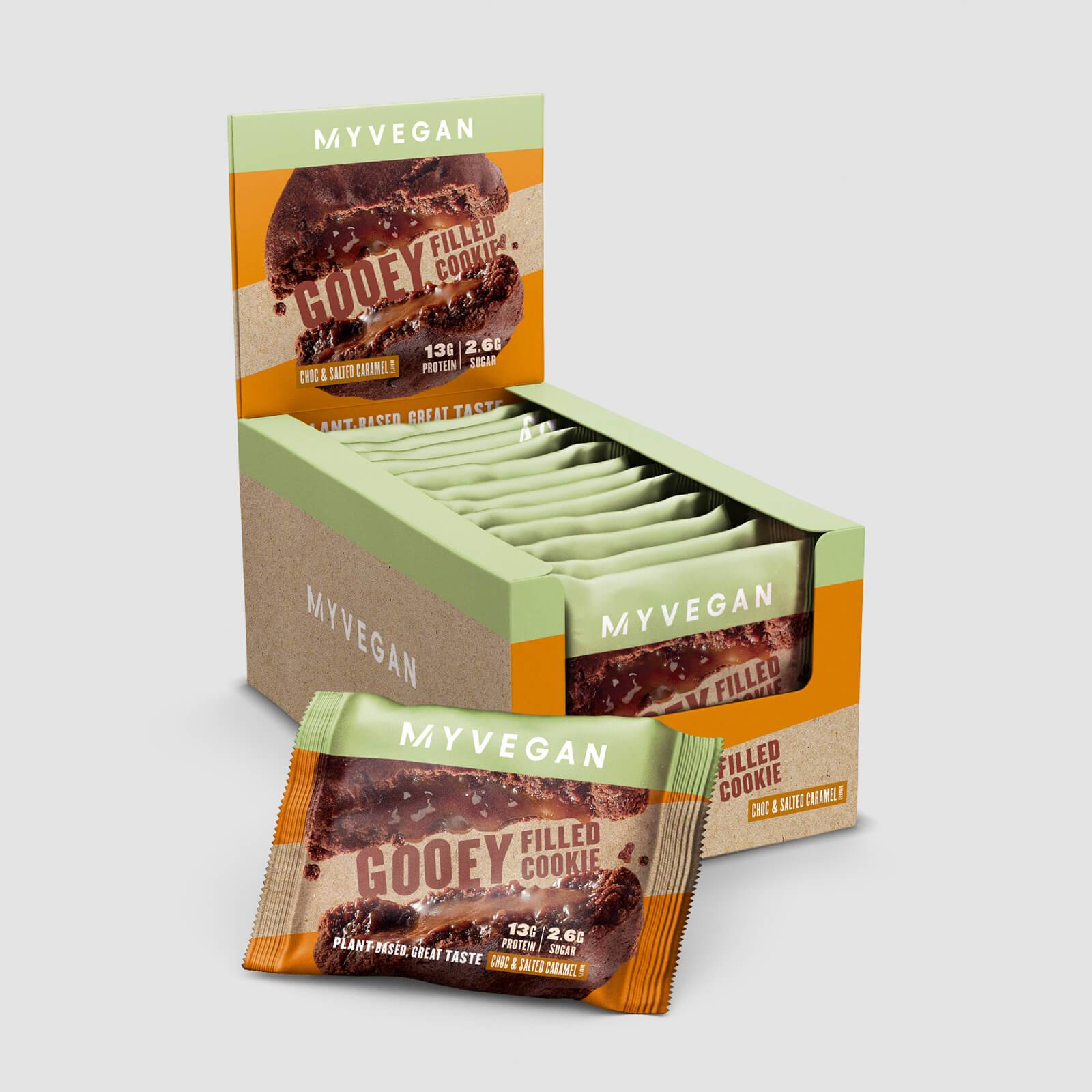 Myprotein Cookie végane fourré aux protéines - Choc & Salted Caramel