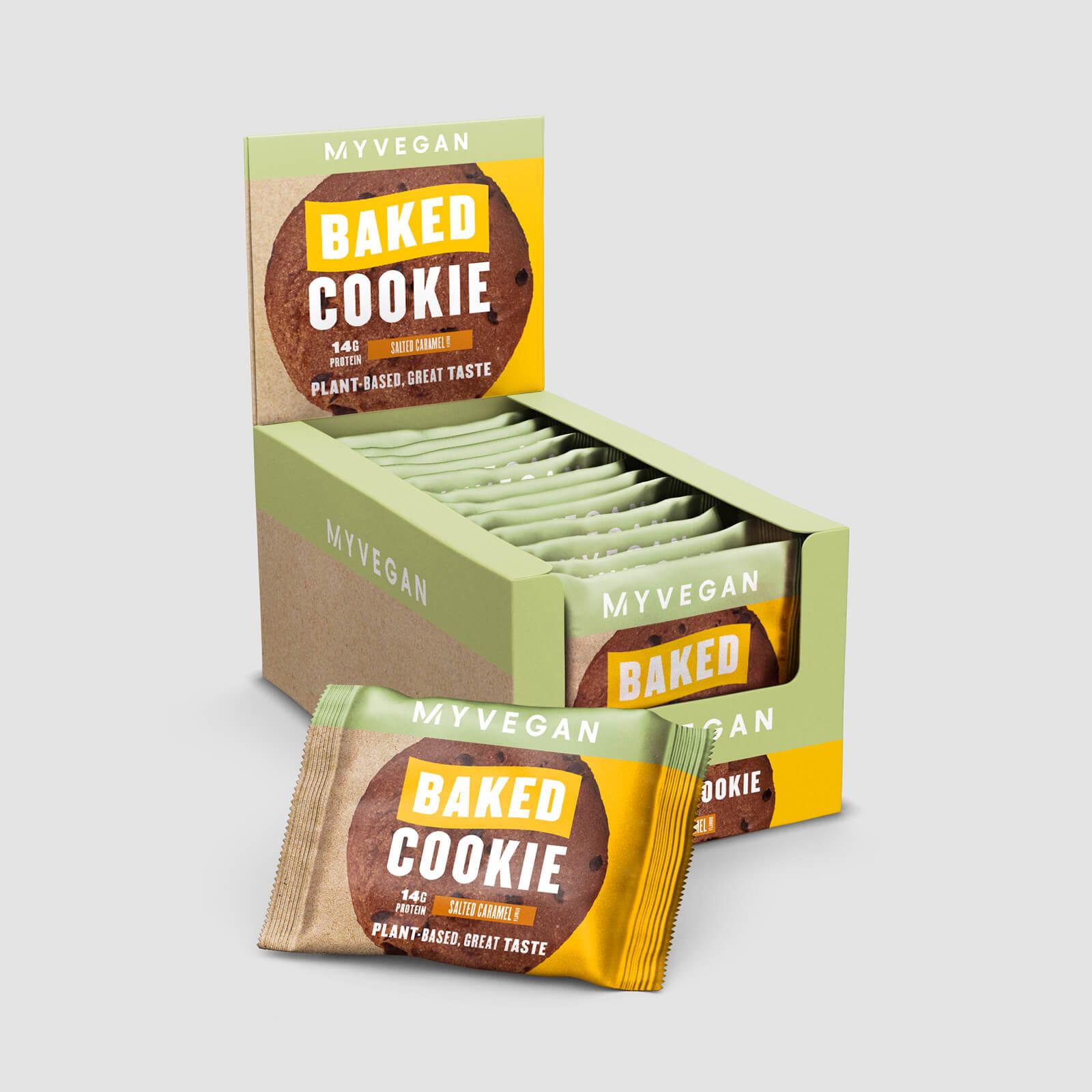 Myprotein Cookie protéiné Vegan - 900g - Nouveau - Caramel salé
