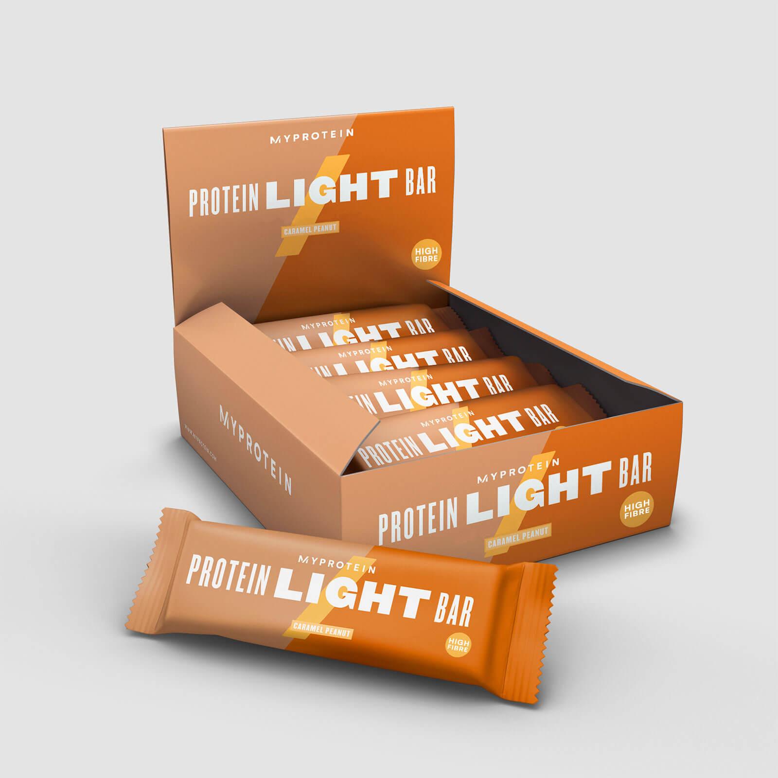Myprotein MyLight Bar - 12 x 65g - Caramel et cacahuetes