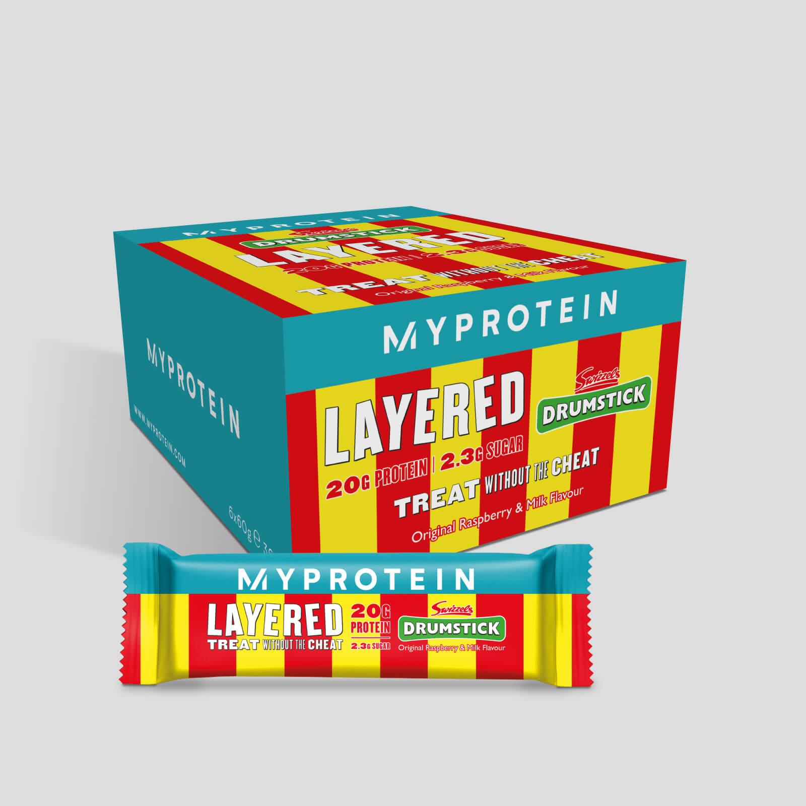 Myprotein Barre protéinée à 6 couches - Drumstick - Swizzels Drumstick