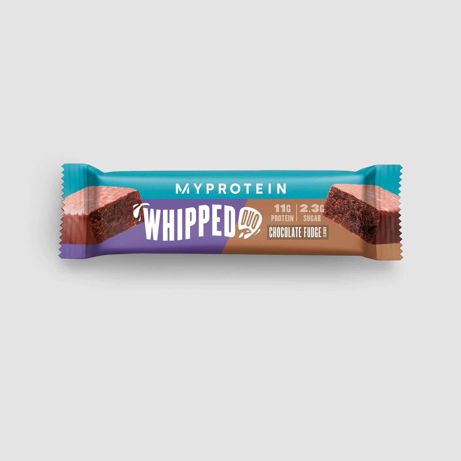 Myprotein Whipped Duo - Barre protéinée gourmande - 12 x 56g - Chocolate Fudge