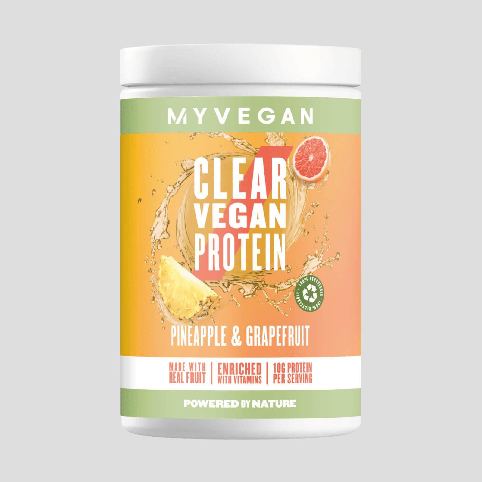 Myvegan Clear Vegan Protein - 20servings - Pineapple & Grapefruit