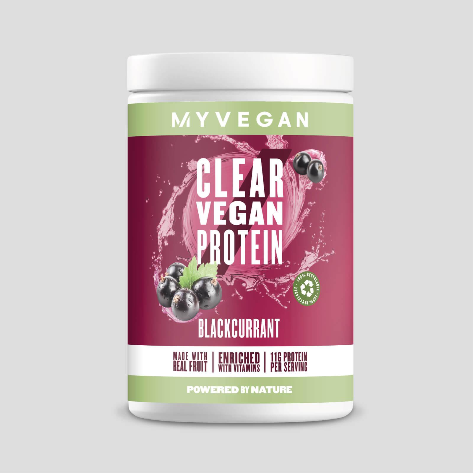 Myvegan Clear Vegan Protein - 20servings - Cassis