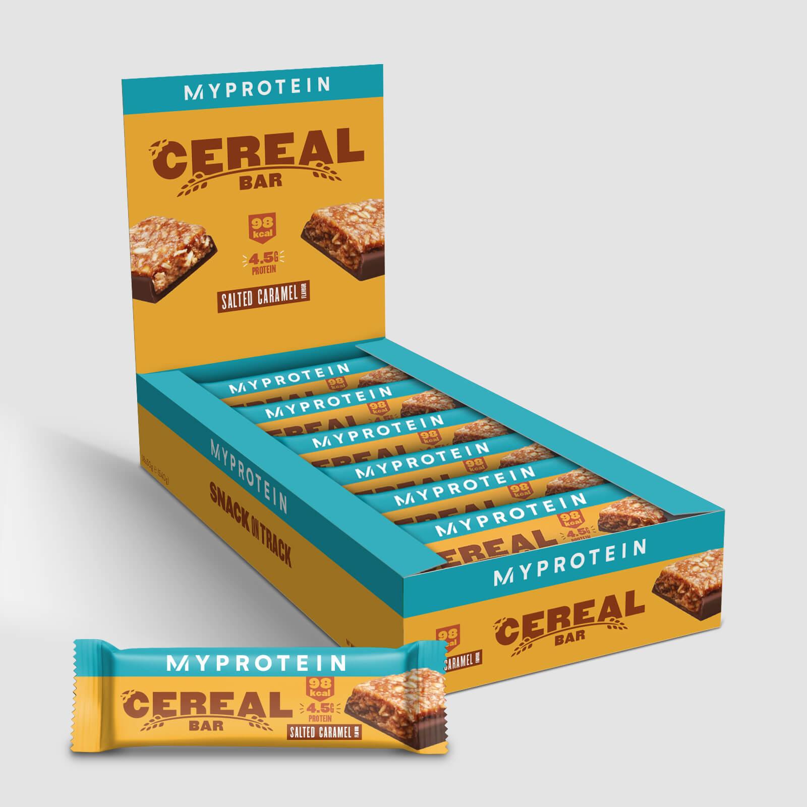 Myprotein Barre de céréales - 18 x 30g - Nouveau - Caramel salé