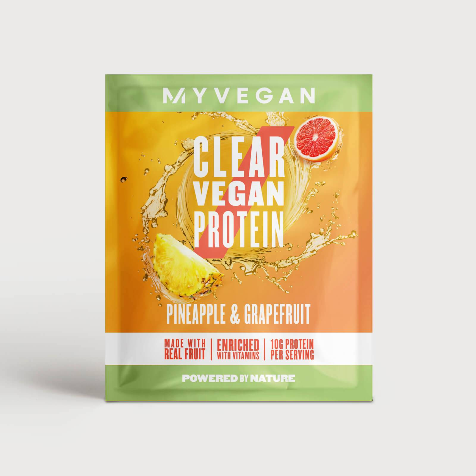 Myvegan Clear Vegan Protein, 16g (Sample) - Pineapple & Grapefruit
