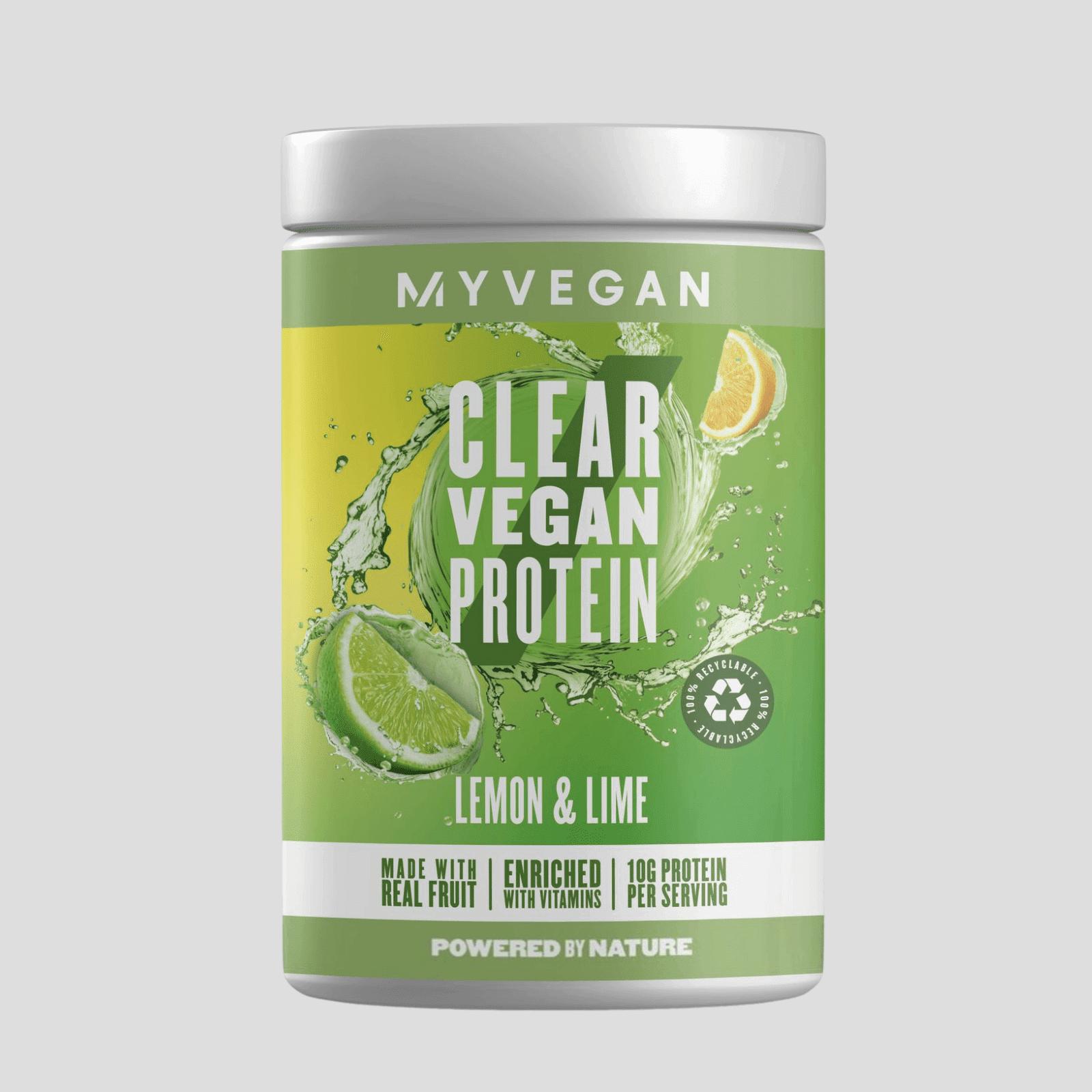 Myvegan Clear Vegan Protein - 40servings - Citron et citron vert