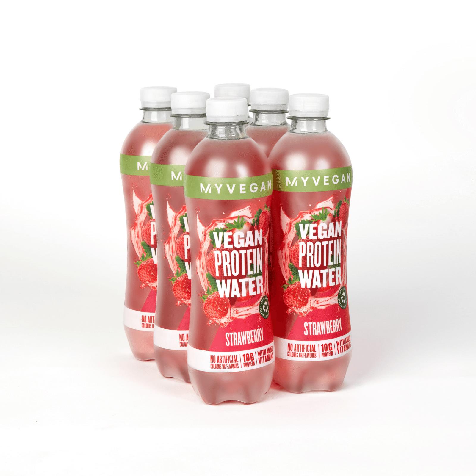 Myvegan Eau protéinée Clear Vegan - Fraise