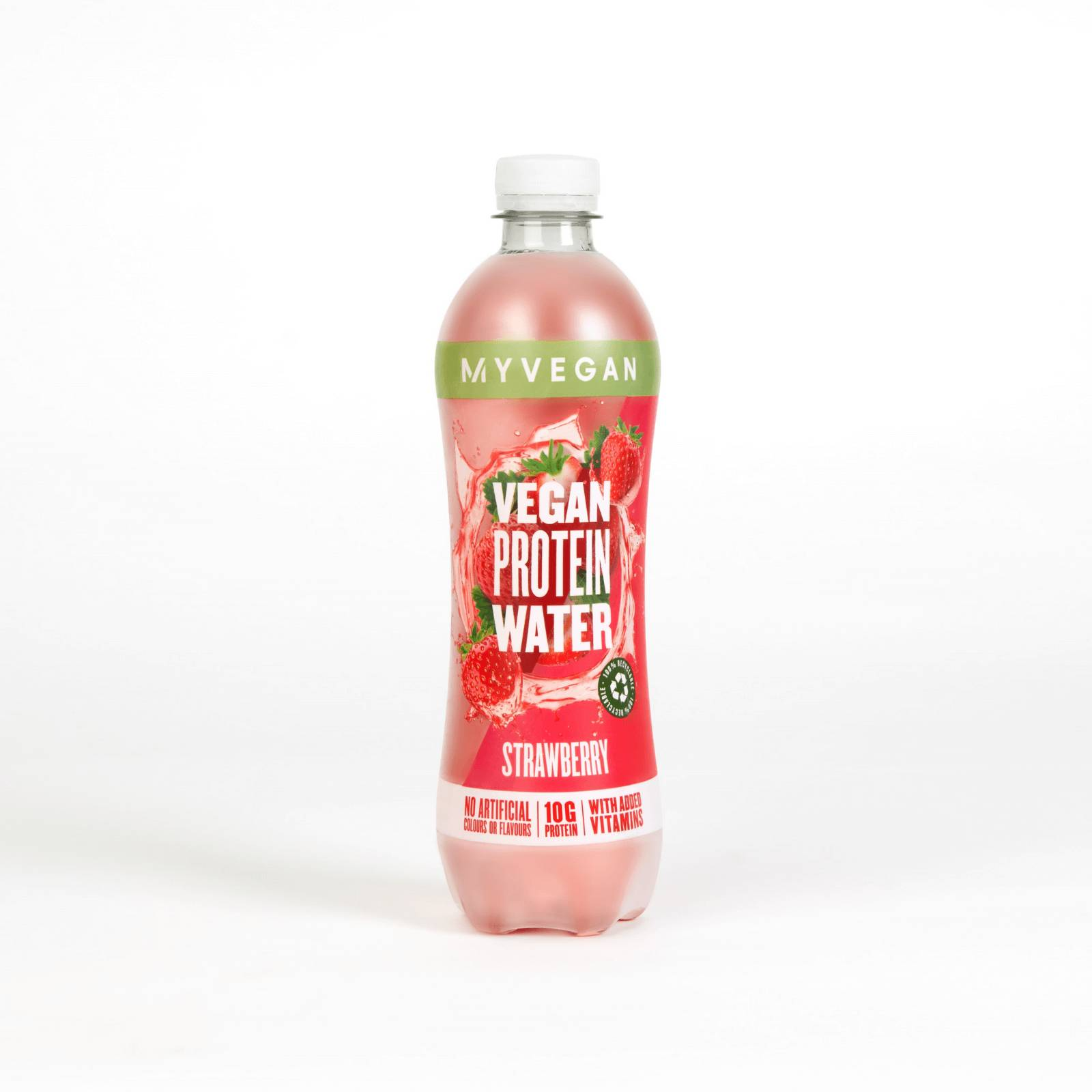MyVegan Clear Vegan Protein Water (Sample) - Fraise